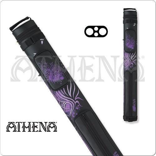 Athena Cue Case - Cue Case - ATHC02 - 2x2 Tribal Purple Hard