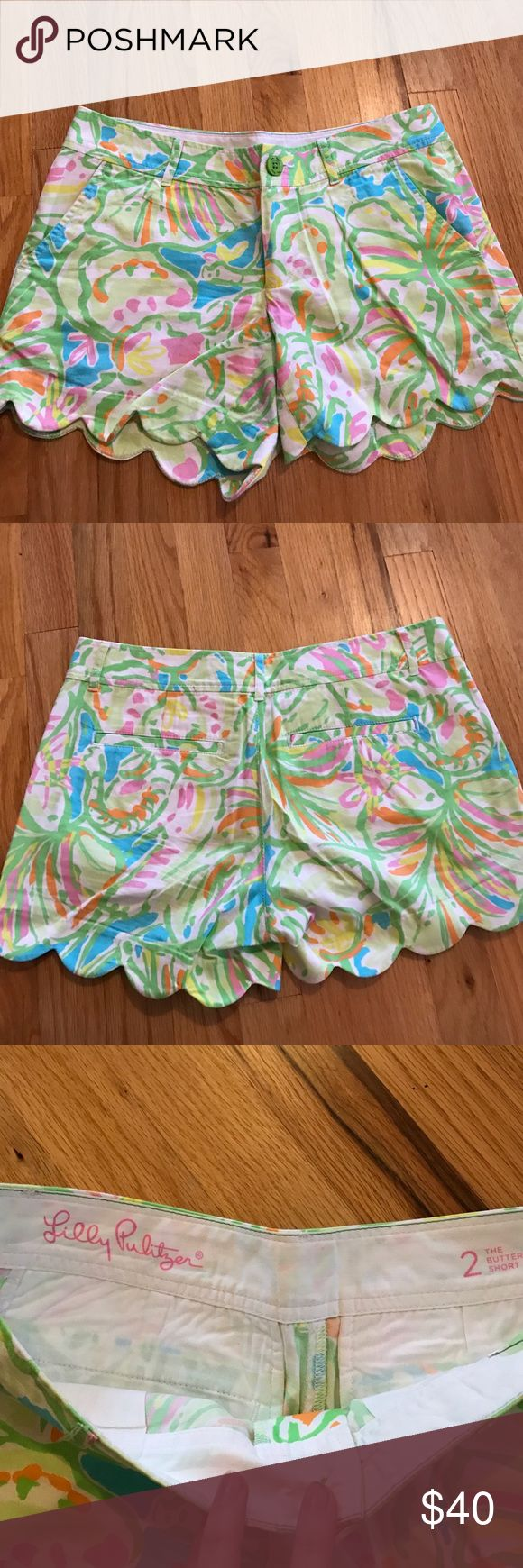 Lilly Pulitzer Shorts Scalloped lilly pulitzer shorts Lilly Pulitzer Shorts