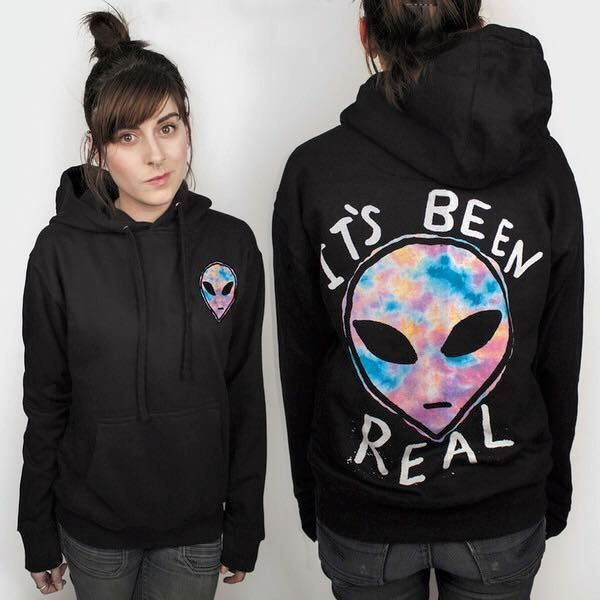 Sold on teenhearts.com Alien hoodie. It's been real