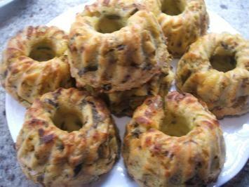 Kartoffeln: Lauchtörtchen aus Kartoffelbrei - Rezept