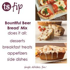 Tuesday Tip: What CAN'T You Do With Beer Bread? │Is there anything you can't make with Bountiful Beer Bread Mix®?