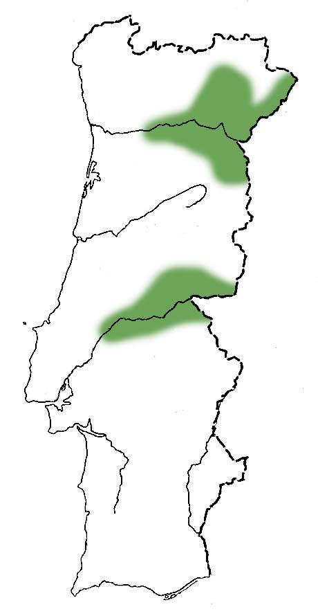 zimbro galego mapa