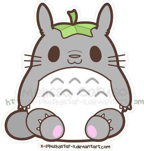 Chibi Totoro Miyazaki San Pinterest