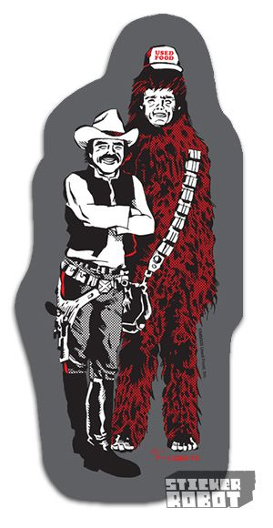 Best Uncles Stickers Images On Pinterest Stickers Die - Star wars custom die cut stickers