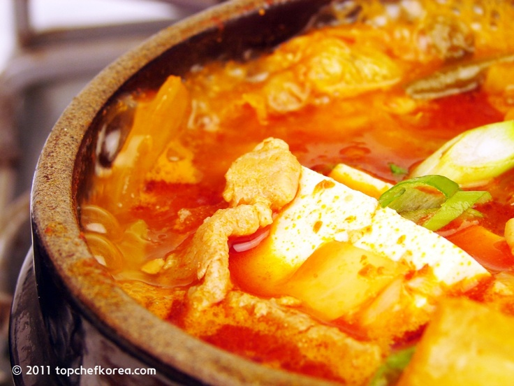 ... pork and kimchi are tender kimchi jjigae spicy stew with kimchi pork