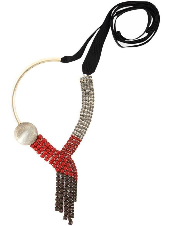 Collier en cristal Marni / 15 ans de mariage : 10 idées de cadeaux cool pour les noces de cristal