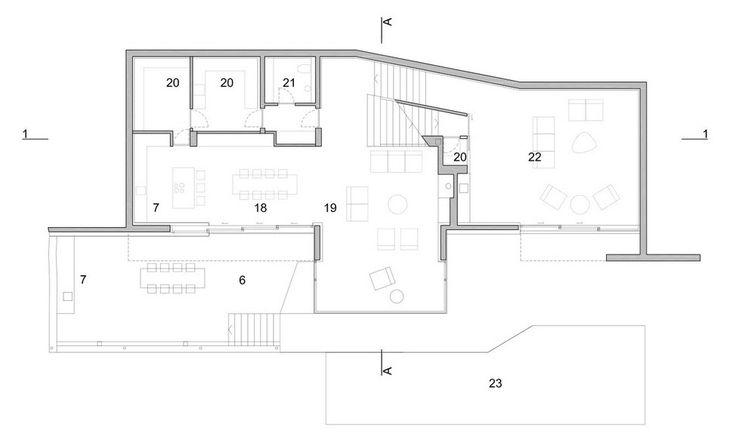 17 best images about pintar plano on pinterest house for Planos de casas con piscina