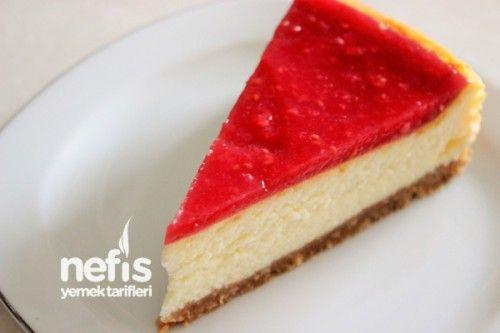 Meyve Soslu Cheesecake ve Yapım Aşamaları
