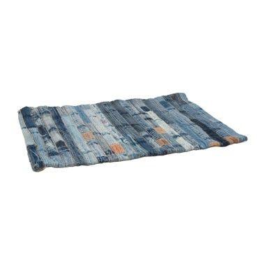 Vloerkleed jeans - 60x90 cm