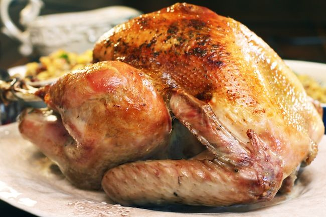 Turkey: Brined Herb Butter Roasted Turkey and Gravy. It's so easy ...