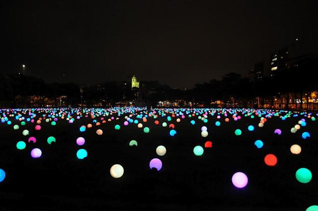 Um Mar De Luzes Multicoloridas No Rio De Janeiro O Blog   The Creators Project