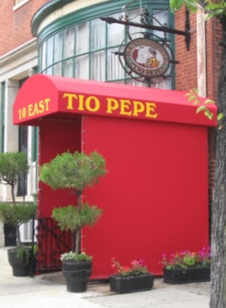 Tio Pepe......A must in Maryland. White Sangria, Paella, Tournedos and Pine Nut Cake....Nom Nom Nom