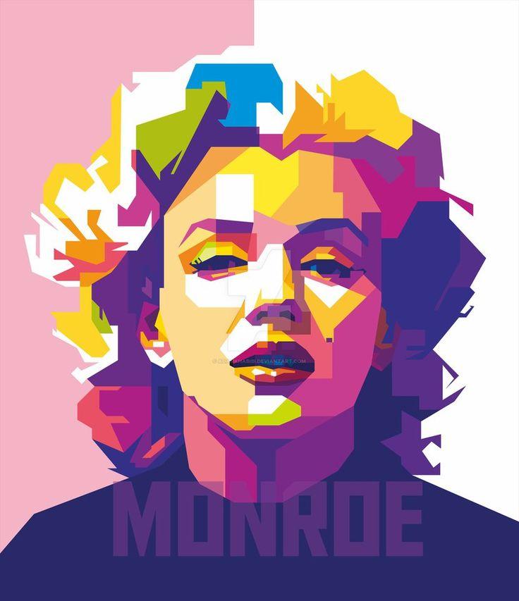 WPAP Marilyn Monroe by AdamKhabibi