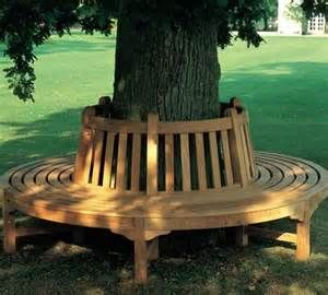 1000 Images About Tree Benches On Pinterest Longwood