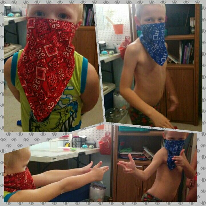 Bandanas for play.