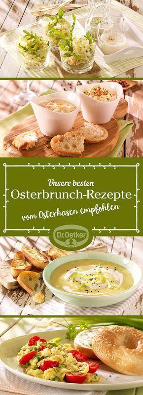 Lassen Sie sich von der großen Auswahl an Osterbrunch-Rezepten, die von der Dr. Oetker Versuchsküche entwickelt wurden, inspirieren.