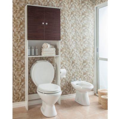 Si te falta espacio en el ba o pod s optar por un mueble - Mueble para encima del inodoro ...