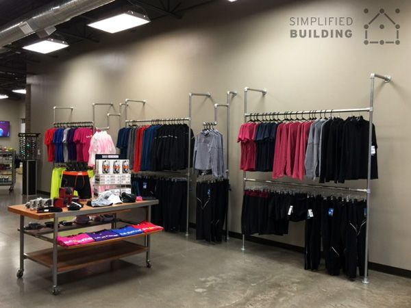 1000 Images About Pipe Clothing Racks On Pinterest