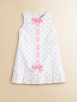 Florence Eiseman - Toddler's & Little Girl's Pique Pleated Polka Dot Dress