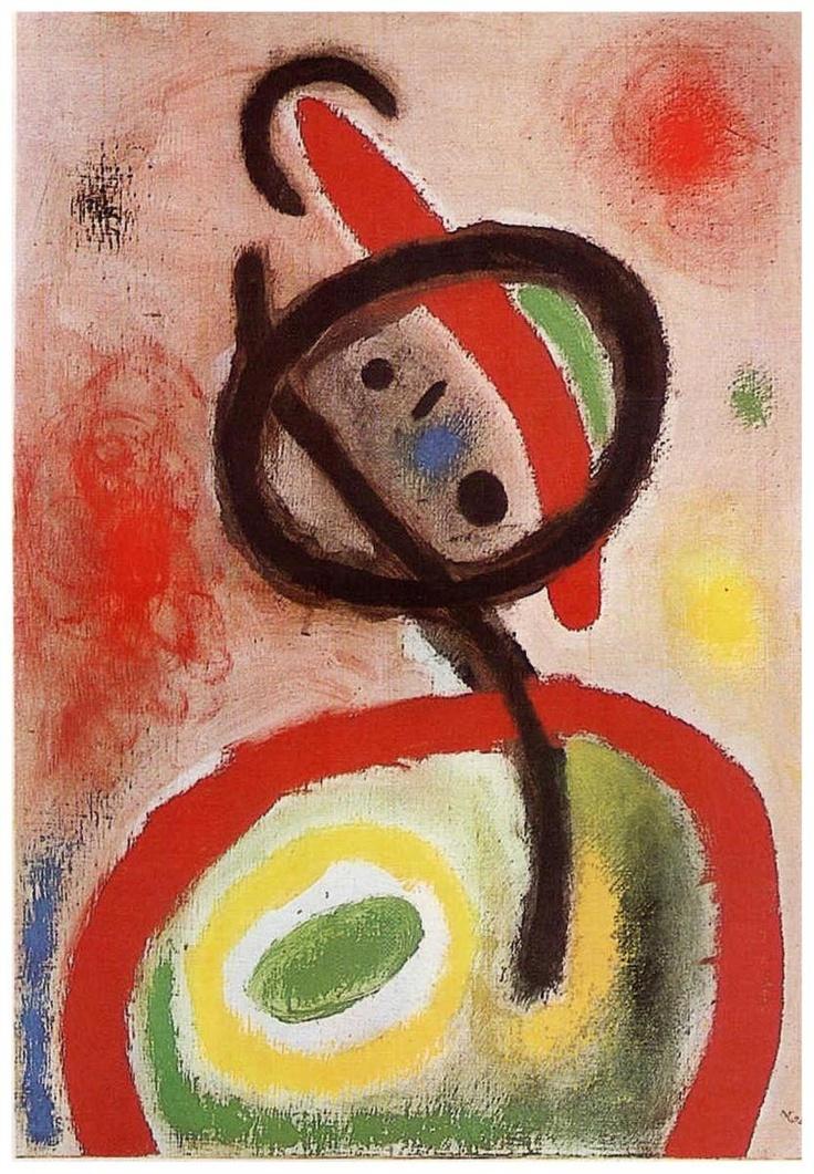 Joan Miro, Femme III, 1965