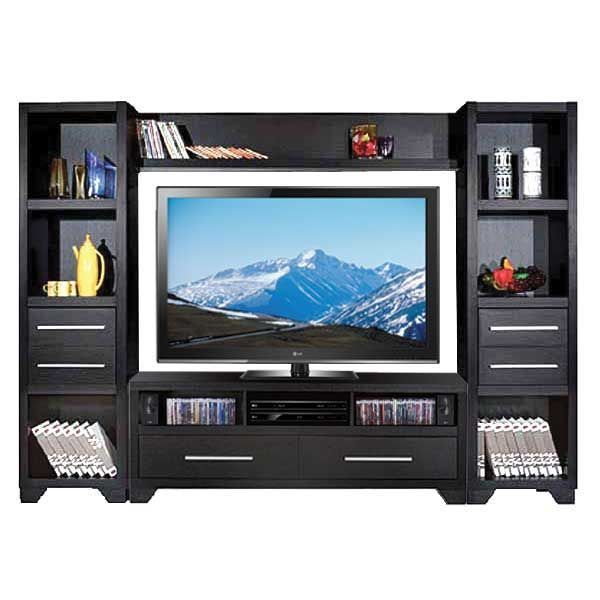 Black Entertainment Wall Unit by ID USA Furniture is now available at American Furniture Warehouse. Shop our great selection and save!