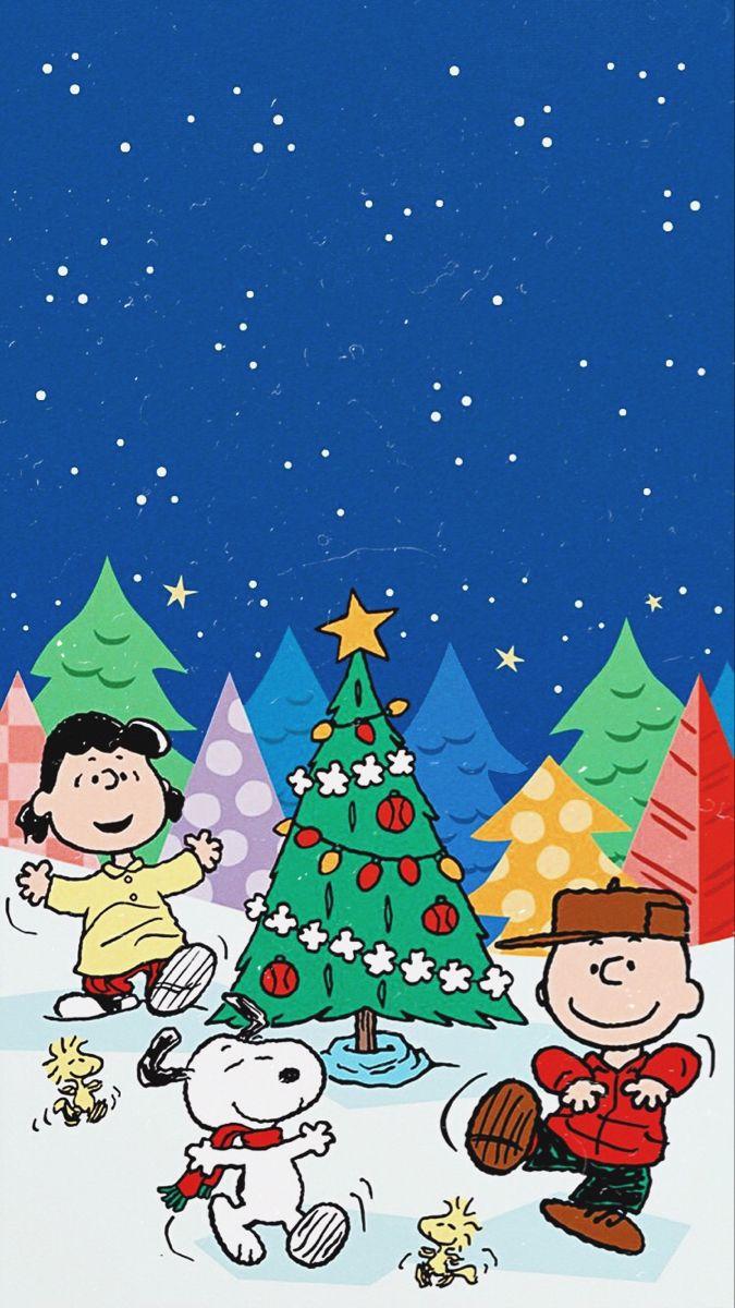 Peanuts Christmas Lockscreen Cute Christmas Wallpaper Wallpaper Iphone Christmas Christmas Lockscreen