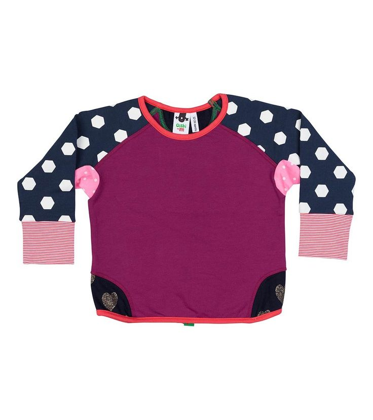 Peony Crew Jumper, Oishi-m Clothing for kids, Winter 2016, www.oishi-m.com