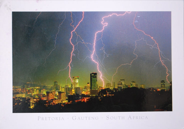 Lightning in South Africa. Travel to South Africa with SEVENTH SENSE DMC. A member of GONDWANA DMCs, your network of boutique Destination Management Companies for travel to all the exotic corners of the world - www.gondwana-dmcs.net