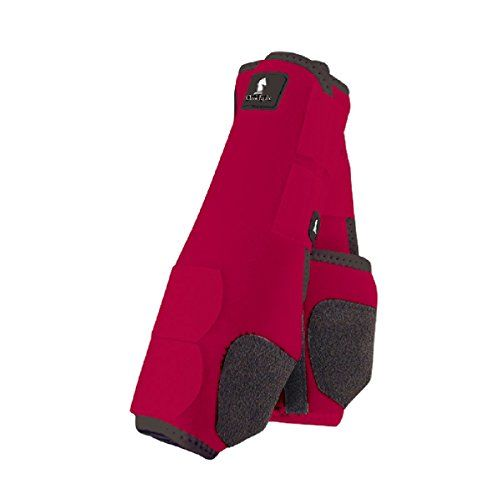 Classic Rope Company Legacy System Front Splint Boots M Red
