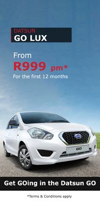 From just R999 per month for the first 12 months! The #Datsun #Go #Lux #special you have been waiting for!  Available from #Atlantis #Motor #Group in Centurion, this is an offer you can not miss out on!  Contact Dawie on 076 455 9427 / 012 663 1350 now! Limited Stock Available!  *T's & C's apply * While Stocks Last
