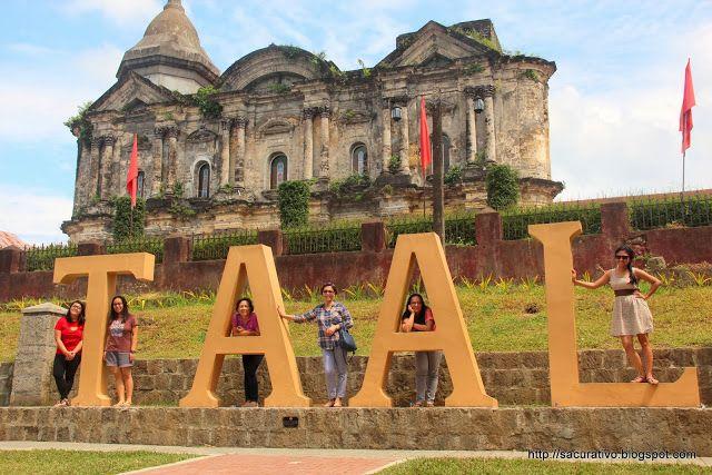 Basilica de San Martin de Tours in Taal, Batangas, Philippines. Largest Catholic Church in Asia.