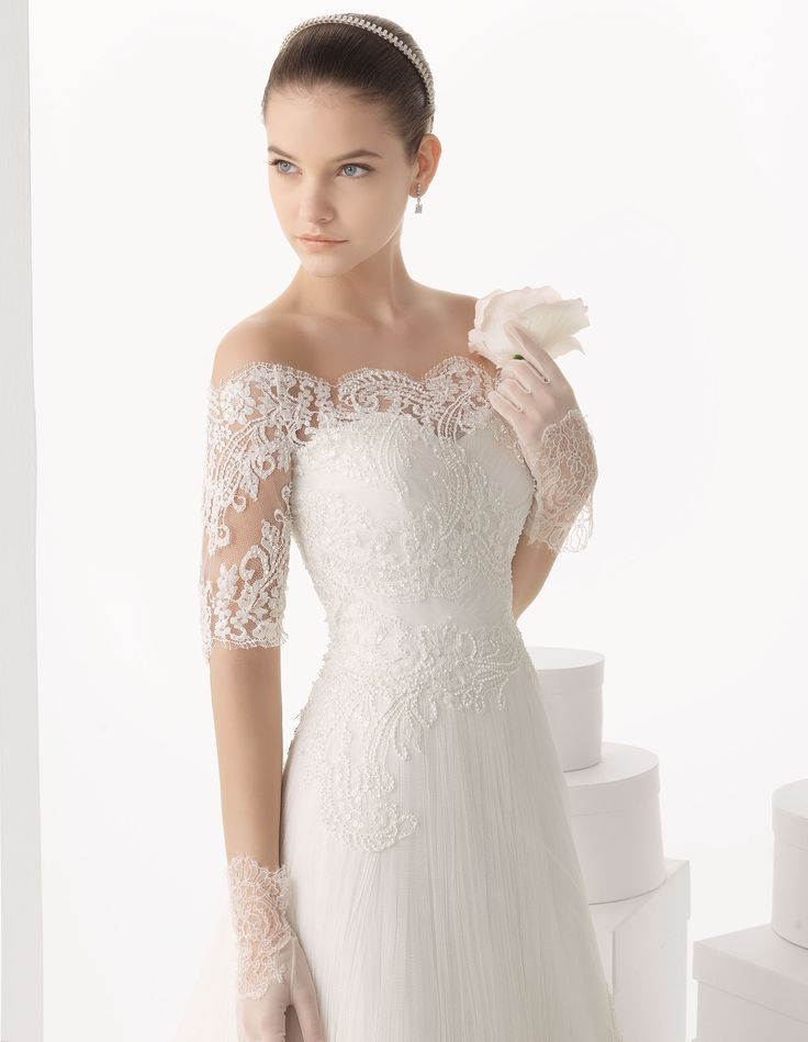Coleccion de complementos para novias, acompaña tu vestido de novia - ROSA CLARA. Carlota