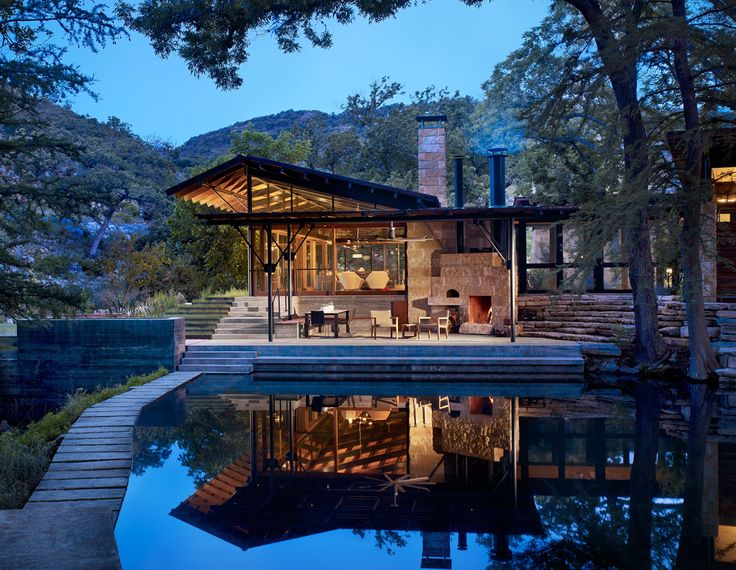 #architecture #outdoorliving | Lake Flato Designs Hill Country House That's All About the Outdoors
