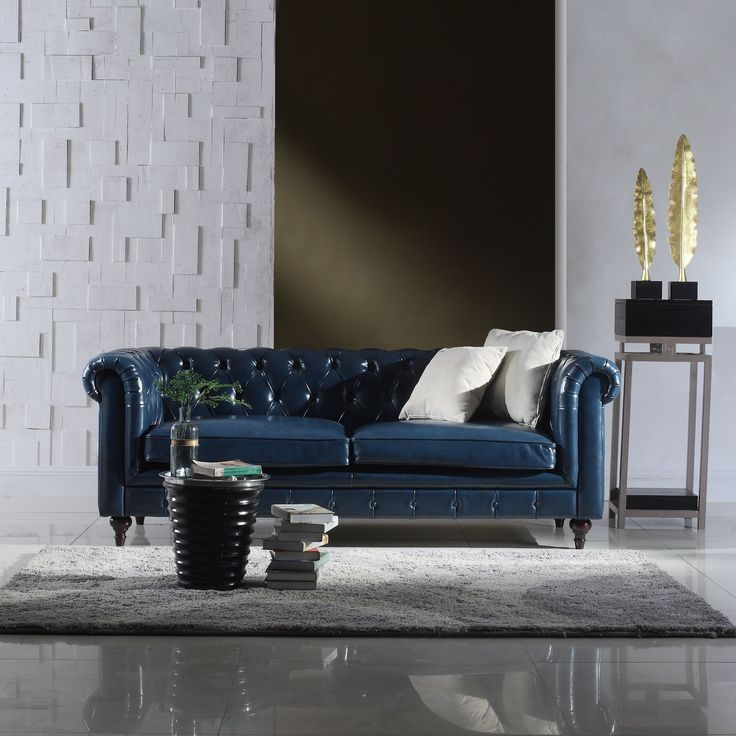 Chesterfield wohnlandschaft  Les 25 meilleures idées de la catégorie Genuine leather sofa sur ...