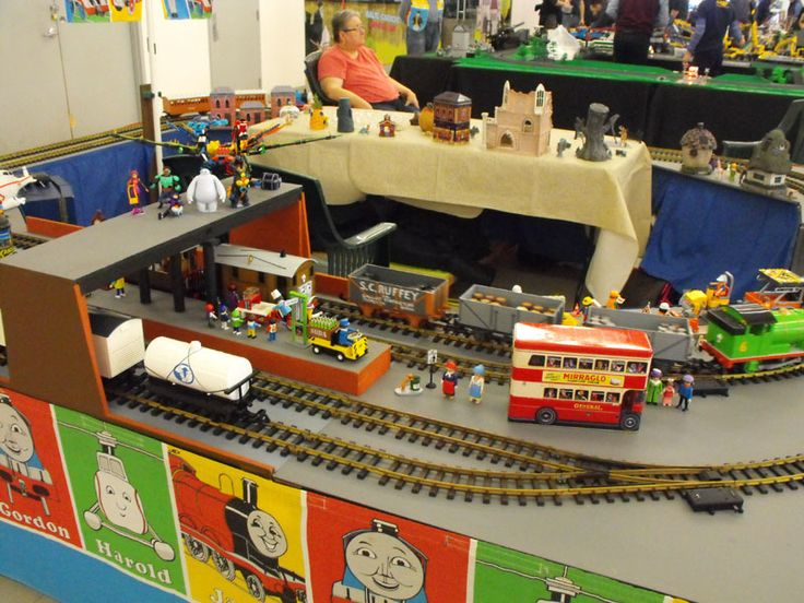 The world of Thomas the Tank Engine, in G Scale!