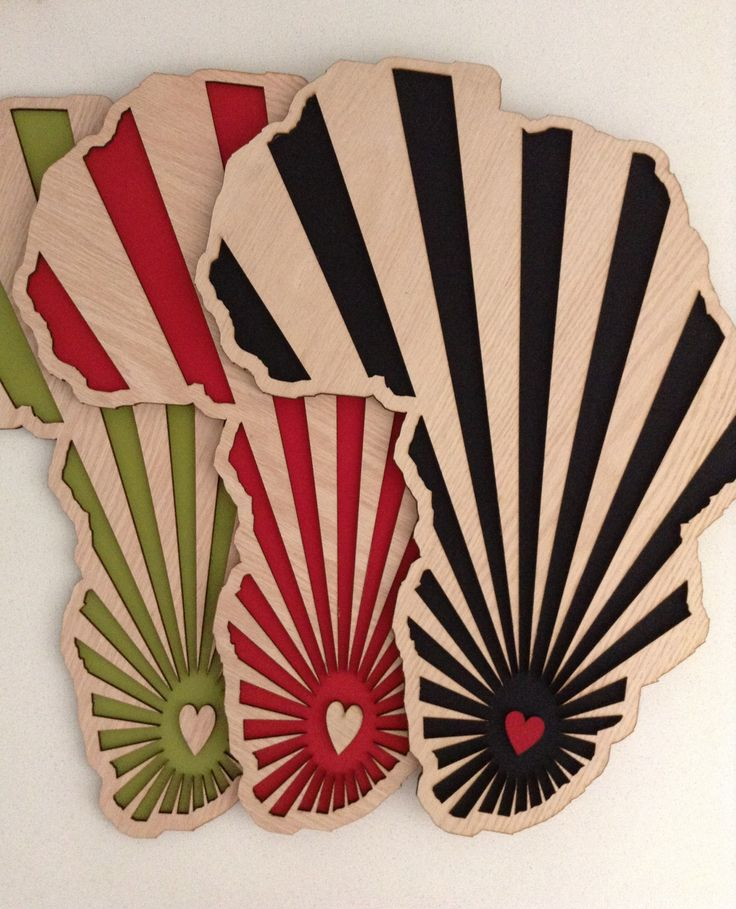 What's Cutting, wall art, Africa ray, laser cut
