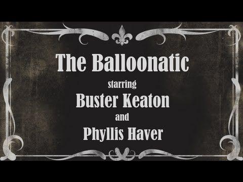 Balloonatic Buster Keaton 1920s Full Movie Silent Film - YouTube