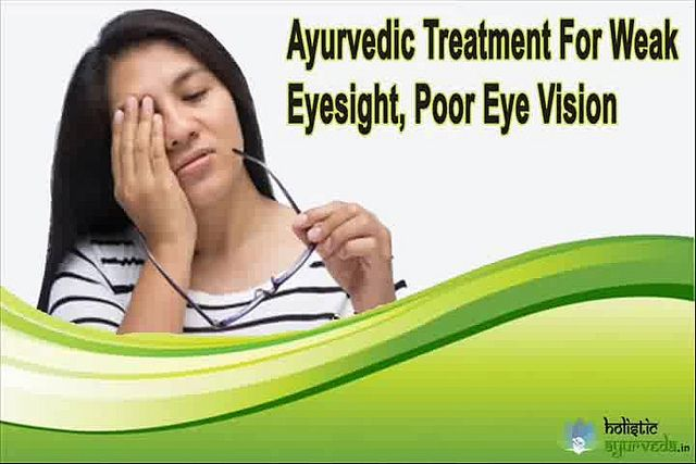You can find more details about the ayurvedic treatment for weak eyesight at http://www.holisticayurveda.in/product/herbal-eyesight-supplements/  Dear friend, in this video we are going to discuss about the ayurvedic treatment for weak eyesight. I-Lite capsule is the best ayurvedic treatment for weak eyesight problem.