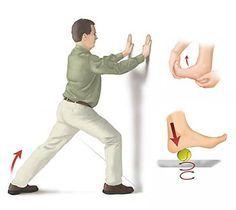 etirer tendon achille