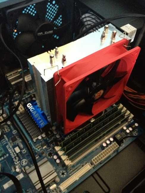 Guía para instalar el disipador Thermaltake NIC F3 | http://formaciononline.eu/guia-instalar-disipador-thermaltake-nic-f3/