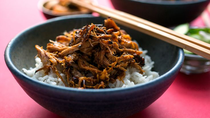 You can make this spicy pork in a 6- to 8-quart electric pressure cooker if you're in a hurry, or in a slow cooker if you're not In either case, you'll get tender bits of meat covered in a chile-flavored barbecue sauce that's just slightly sweet (You can also make it in a stovetop pressure cooker, by trimming a few minutes off the cooking time