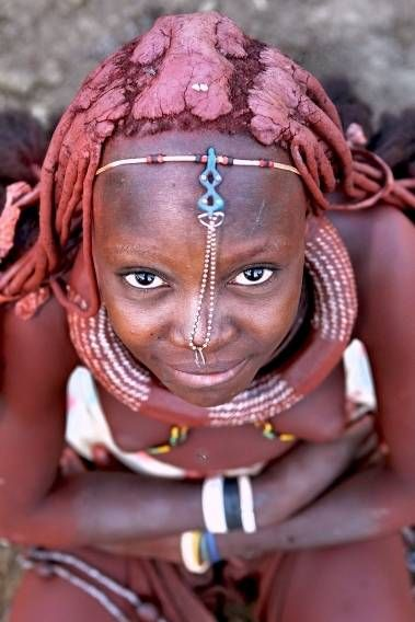 namibia himba tribe african people himba people
