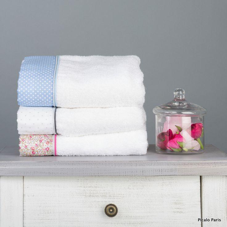 Sublimes serviettes de toilette pour les bébés (ou leurs mamans) réalisées dans une éponge de très grande qualité et confectionnées en France. Idée parfaite pour un cadeau de naissance ! www.picalo.fr