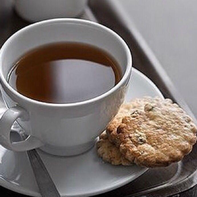 My tea....