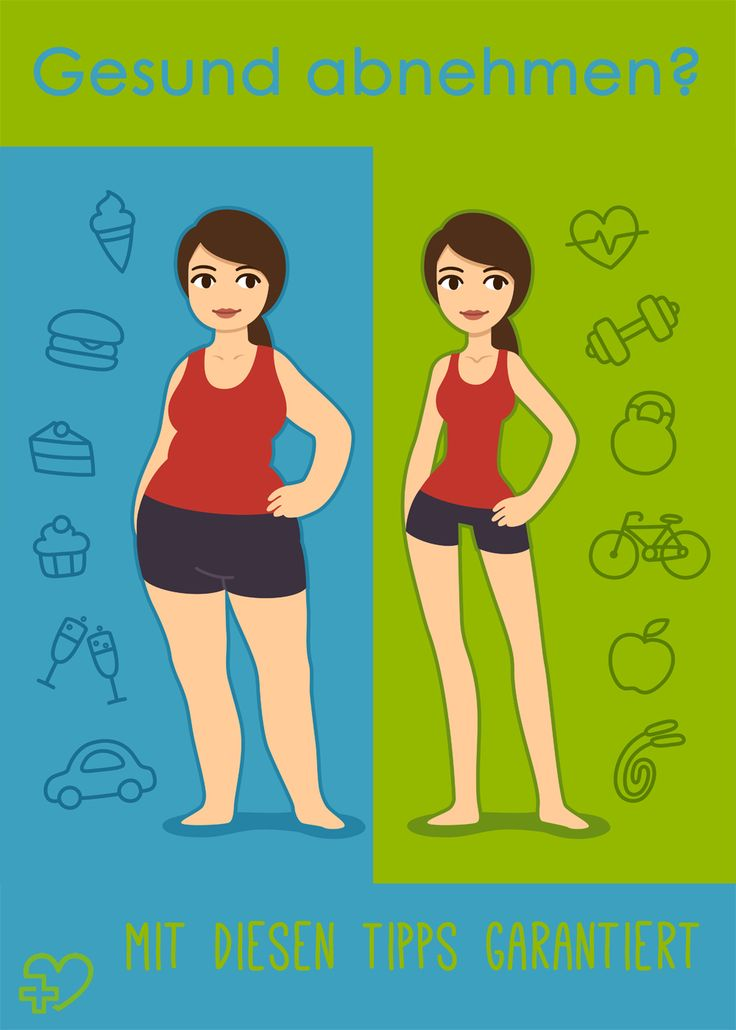 So verlierst du auf gesunde Weise Gewicht. (Bildquelle: istock)
