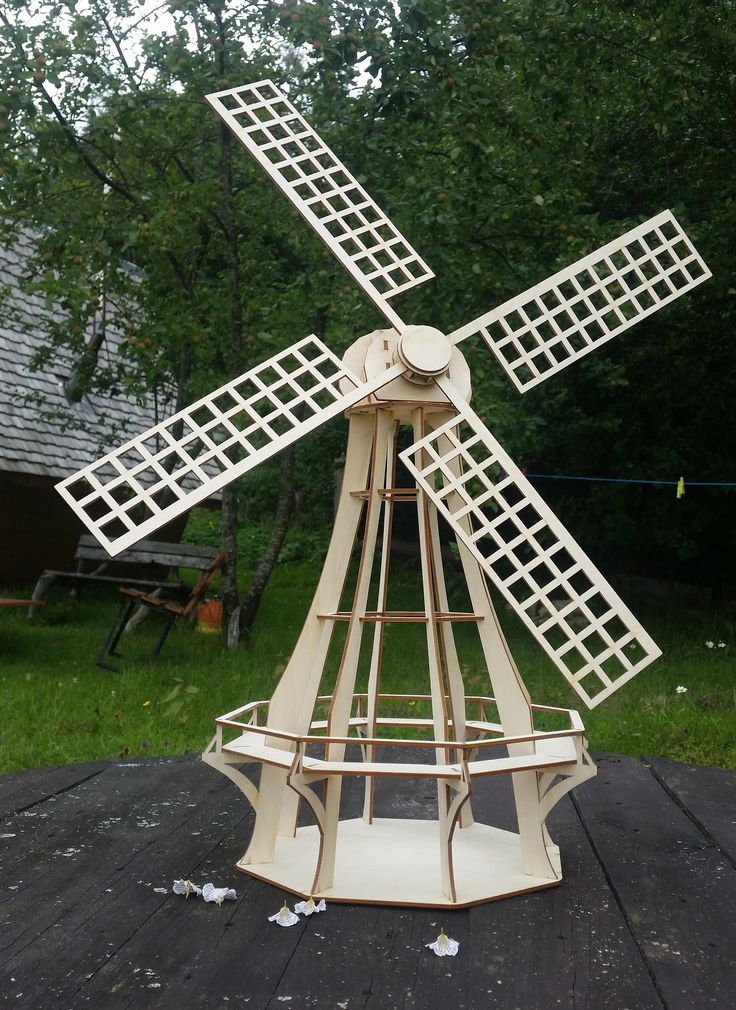 Windmill Kit Dutch Windmill Garden Decor Wooden Windmill Wedding Decor Windmill Decor Ornamental Windmills Windmill Wall Decor