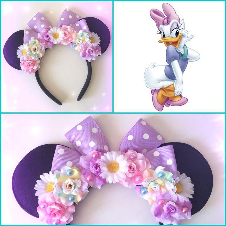 Daisy Duck Mickey Mouse ears