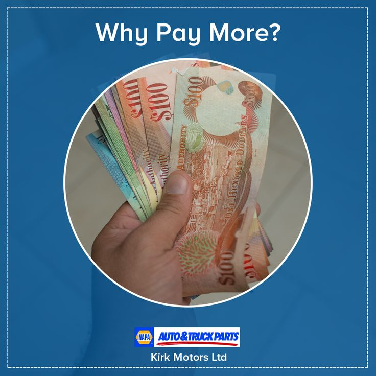 Why pay more? We offer competitive pricing on all our Auto