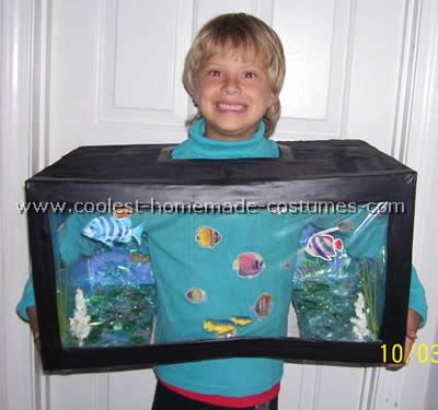 coolest homemade fish halloween costumes - Coolest Kids Halloween Costumes