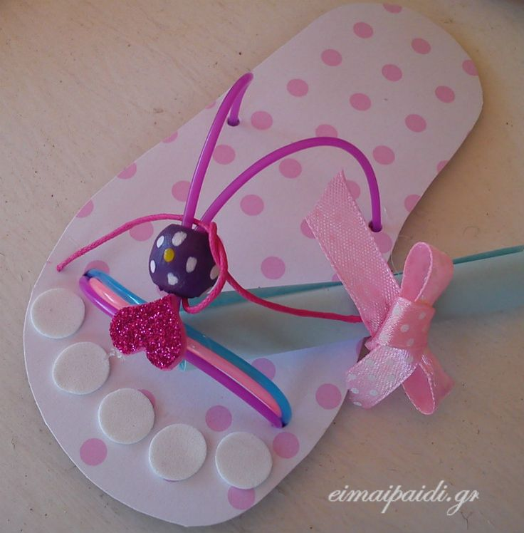 Paper bebe sandals